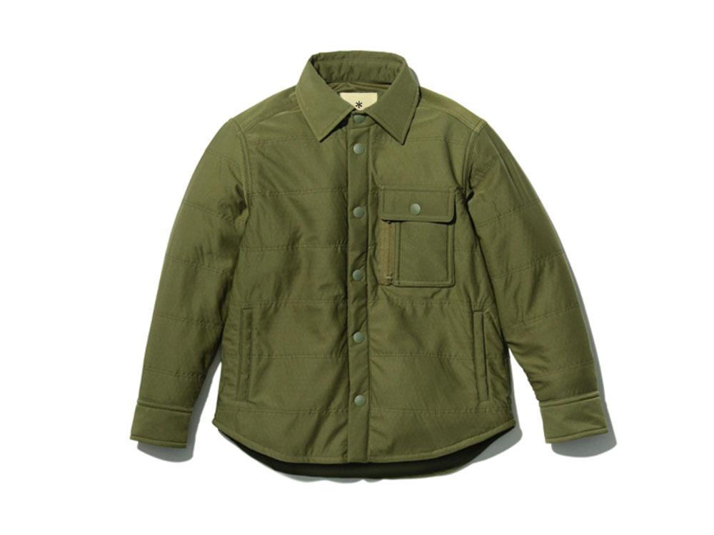 キッズ フレキシブルインサレーションシャツ 1 オリーブ