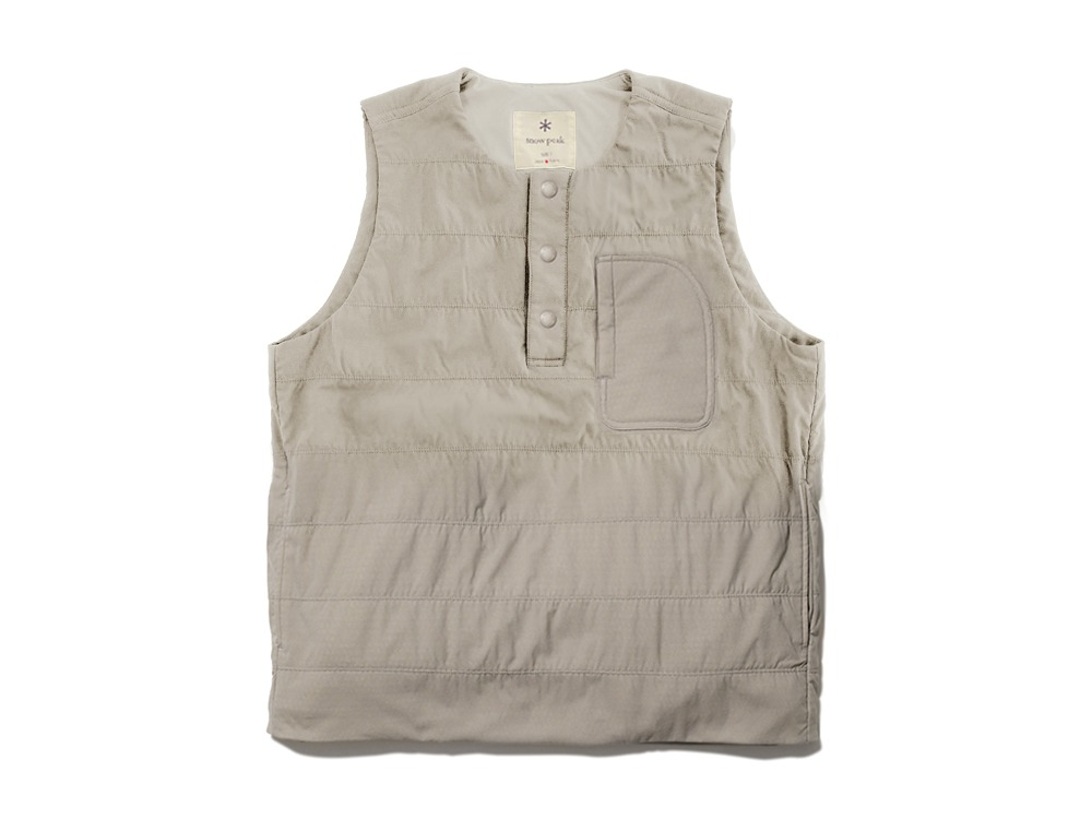 Flexible Insulated Vest M Beige