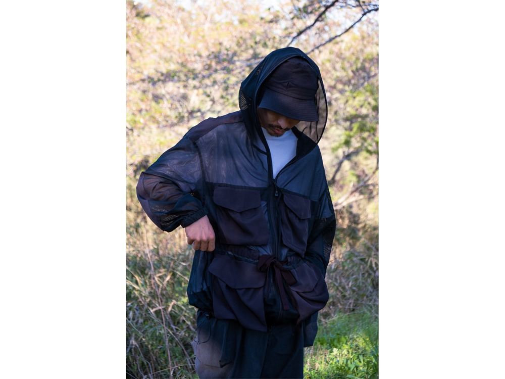 Insect Shield Jacket L Black