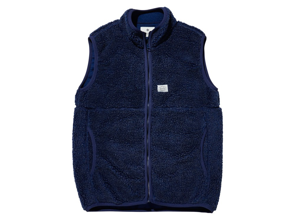 Soft Wool Fleece Vest M Blue0