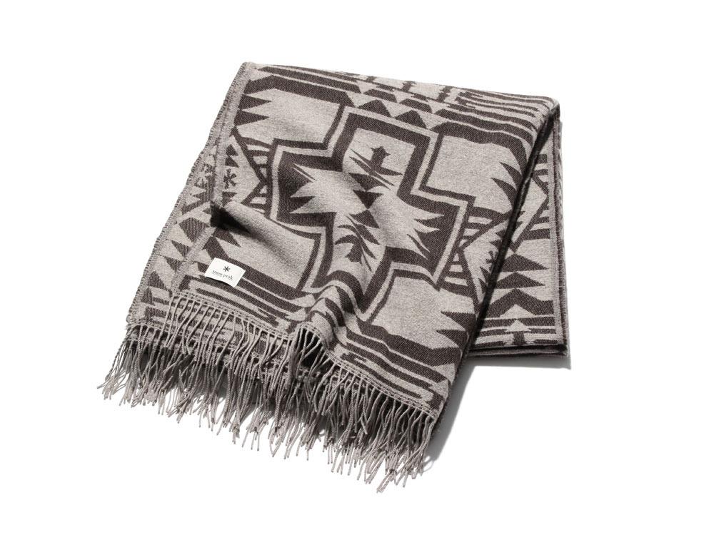 Shetland Wool JQ BlanketOneSizeBeige