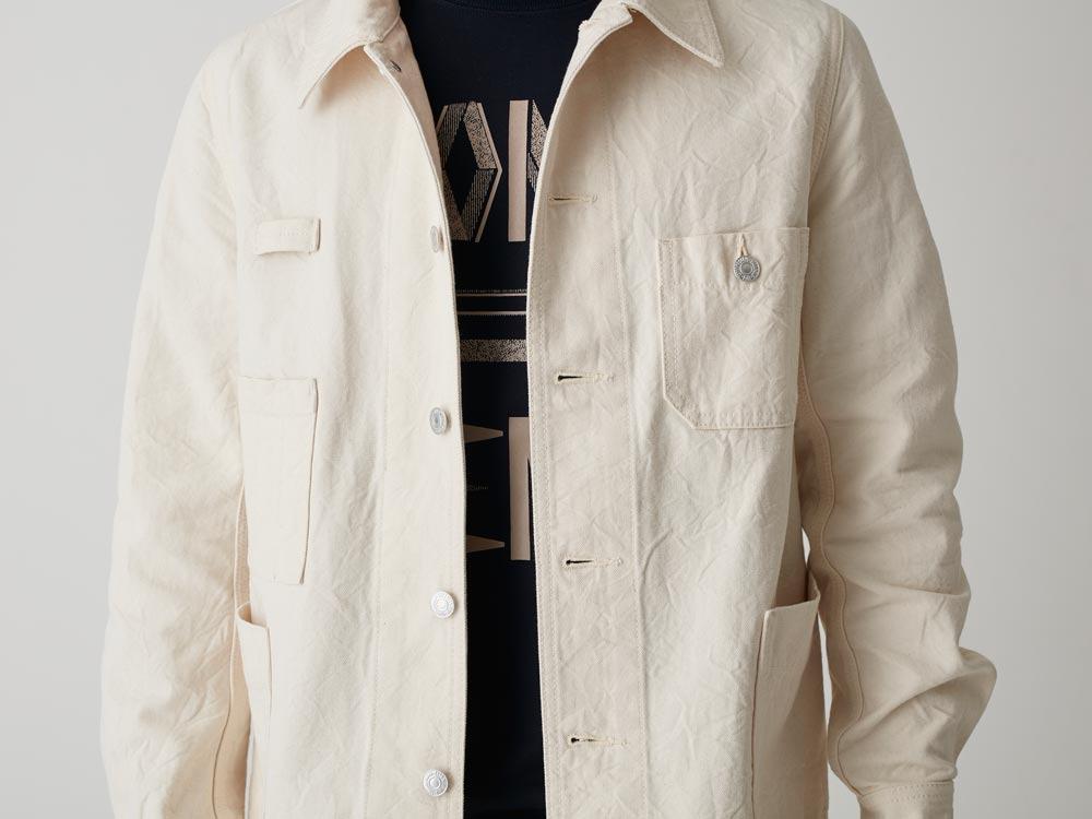 Okayama OX Work Jacket L Indigo5