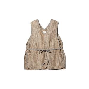 Hand-woven Wild Silk Linen Vest