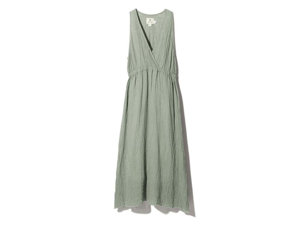 ウォッシュドリネン ドレス 2 セージ