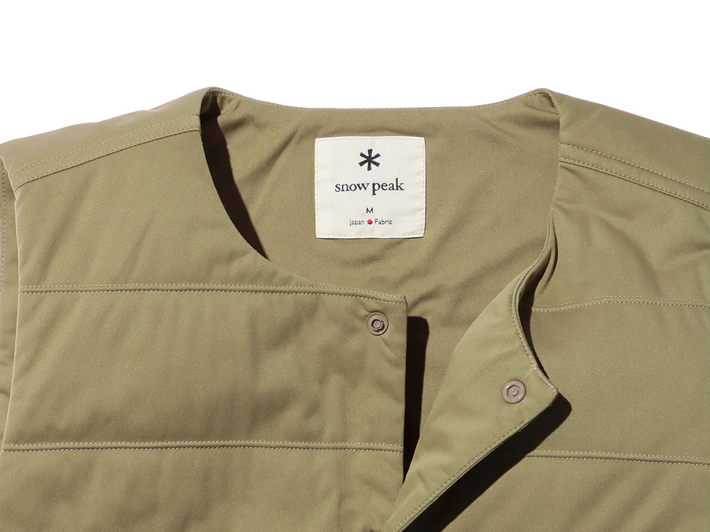 Flexible Insulated Vest S Beige