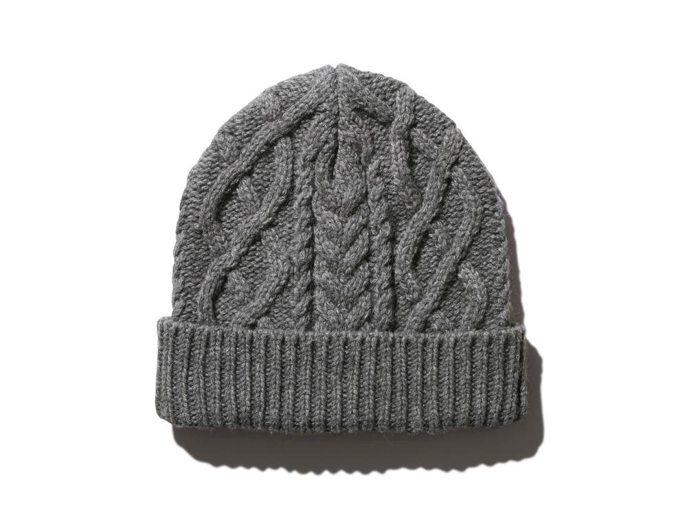 Alpaca Knit Cap One Grey