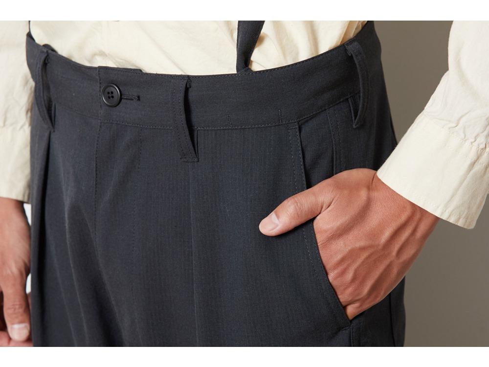 TAKIBI Pants M Black