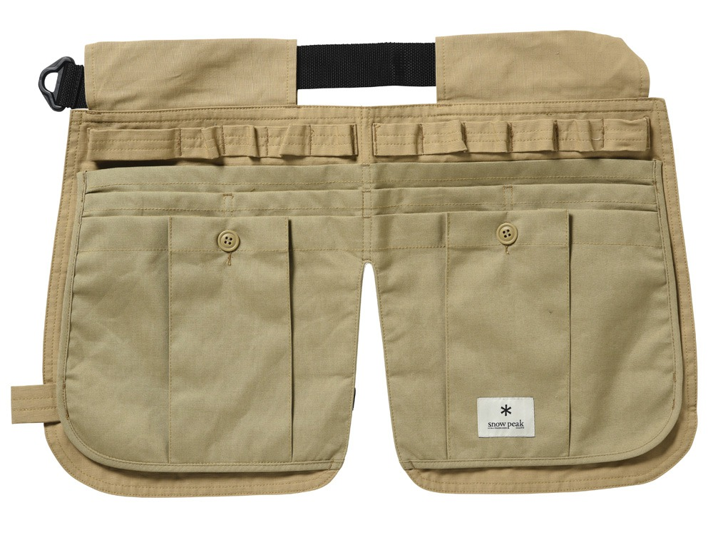 Camping Utility Apron Beige0