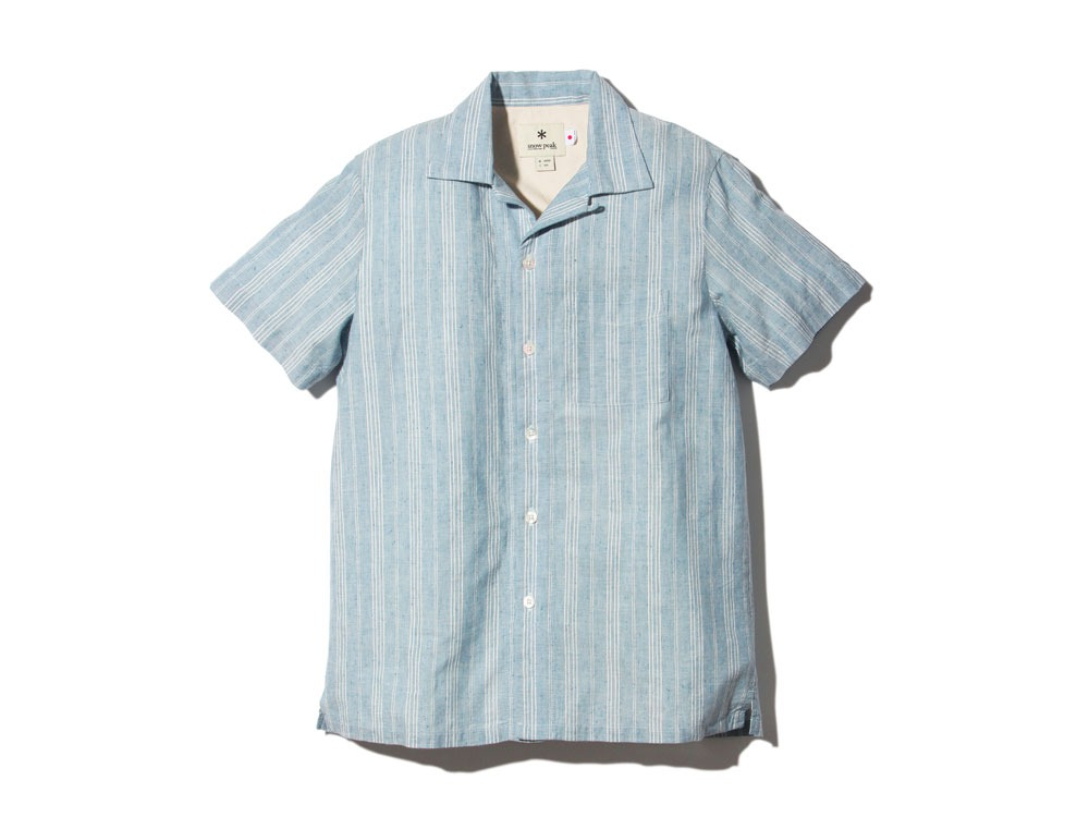 C/LStripedShirtA L Blue0