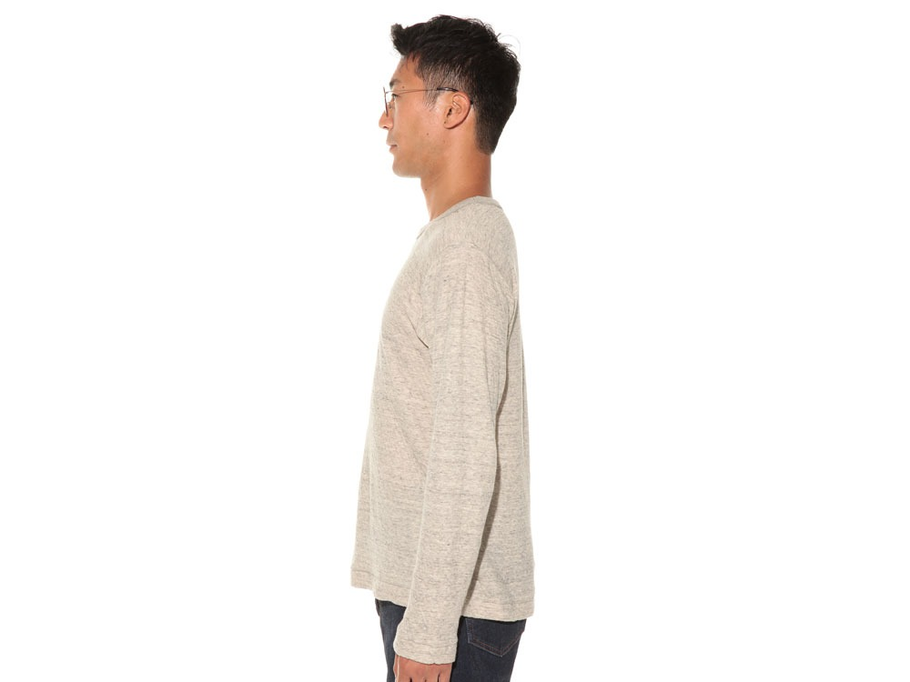Ultimate Pima Double Knit Long Sleeve S Natural3