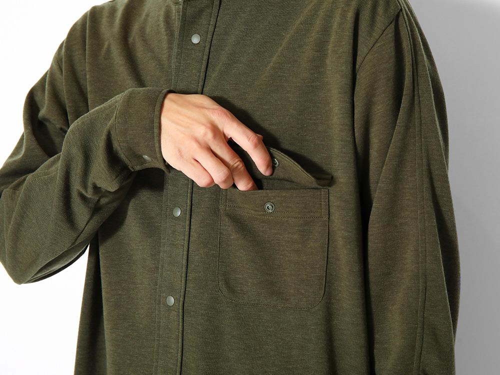 Pe/Wo Grid Shirt L Black