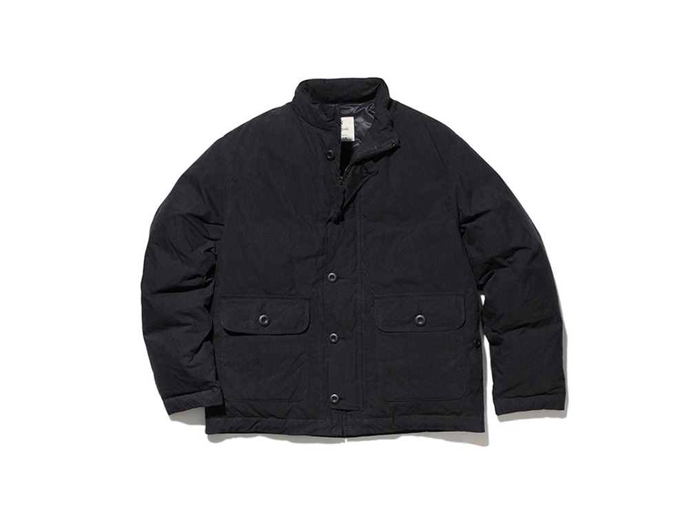 Indigo C/N Down Jacket S Black