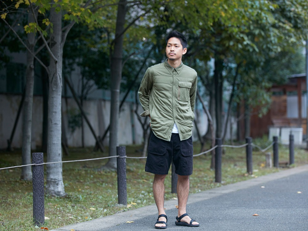 FlexibleInsulatedShirt  L Olive11