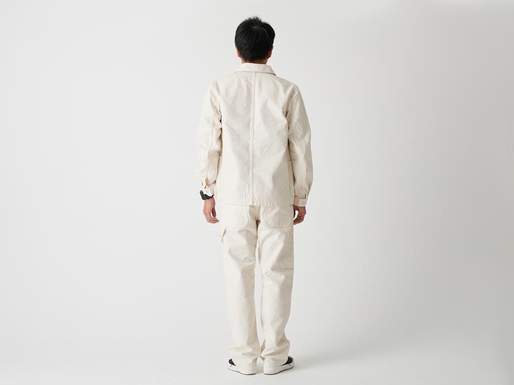 Okayama OX Work Jacket L Ecru3