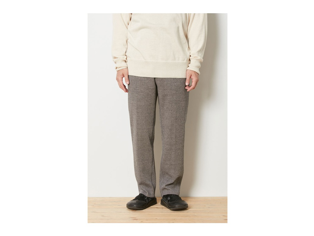 Wool Linen/Pe Pants Regular 1 Grey