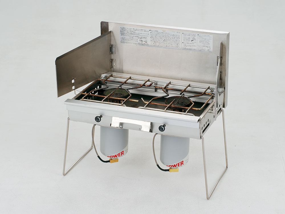 GigaPower Two Burner Stove. Liquid Injection4