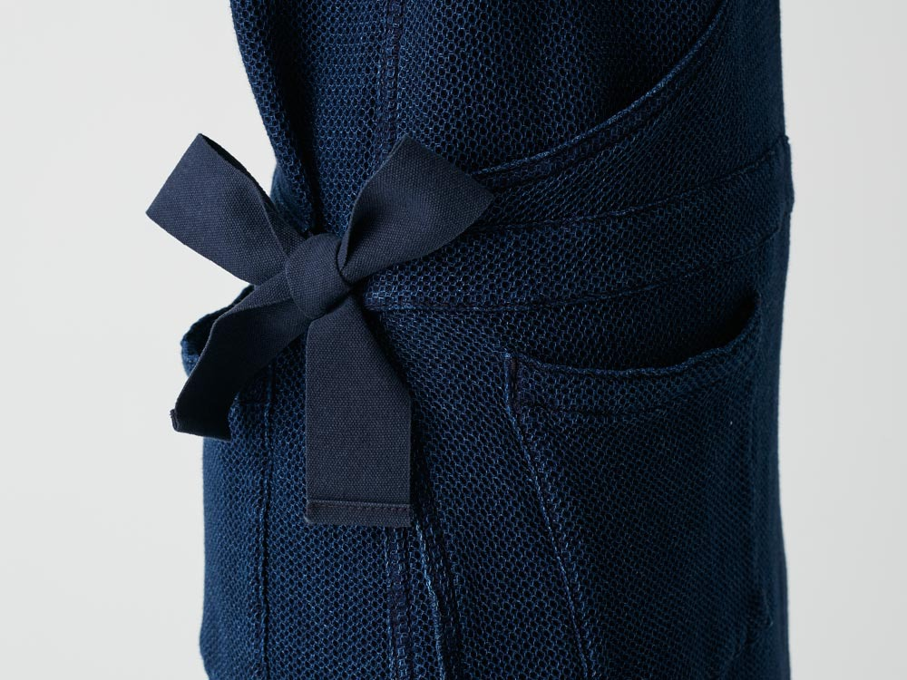 Dobby Denim Dress 3 Indigo8