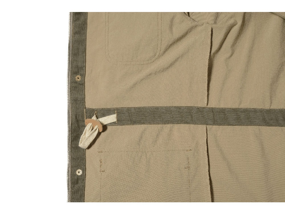 DWR Field jacket XS Olive3