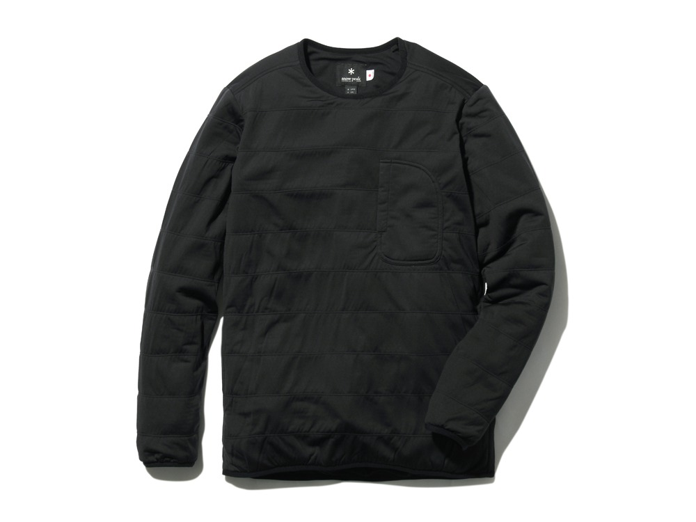 FlexibleInsulatedPullover  S Black0