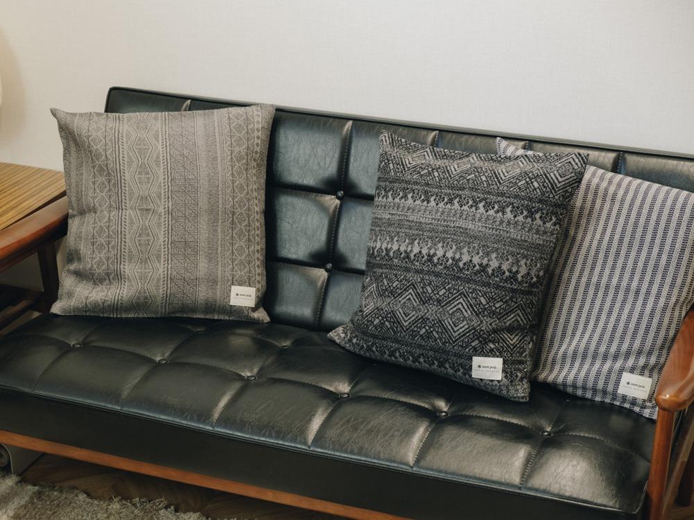 Cotton Herringbone ST Cushion Cover One BG