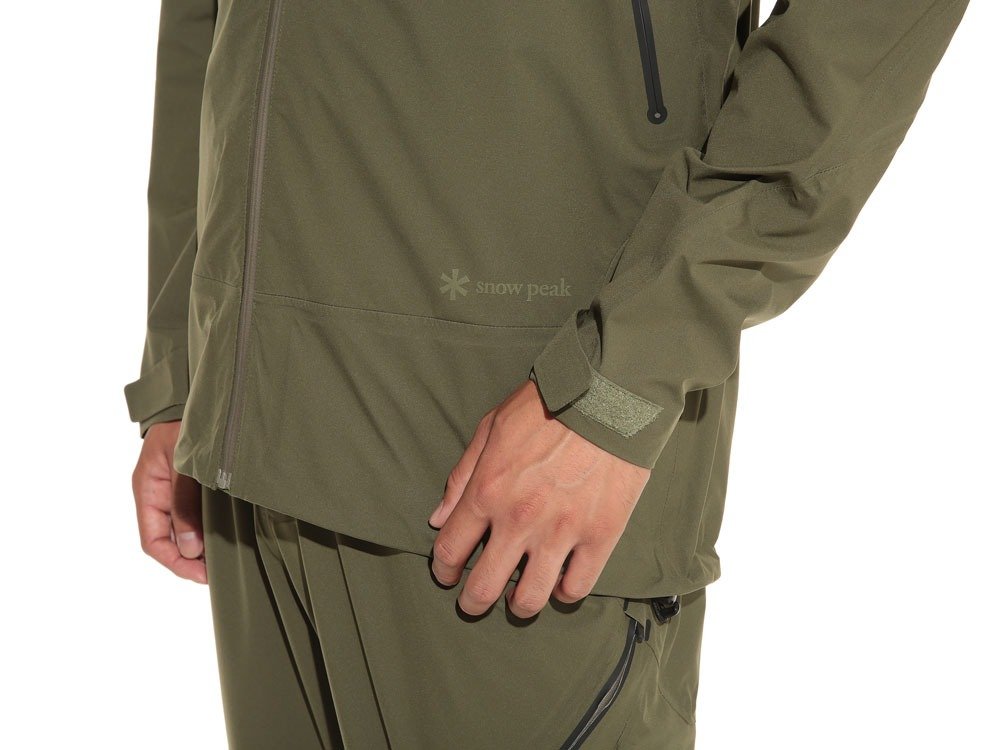 3L Light Shell Jacket S Olive9