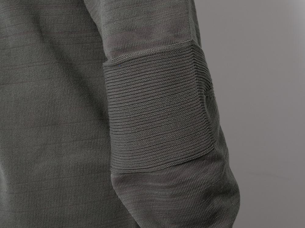 WG Stretch Knit L/S Pullover M Grey