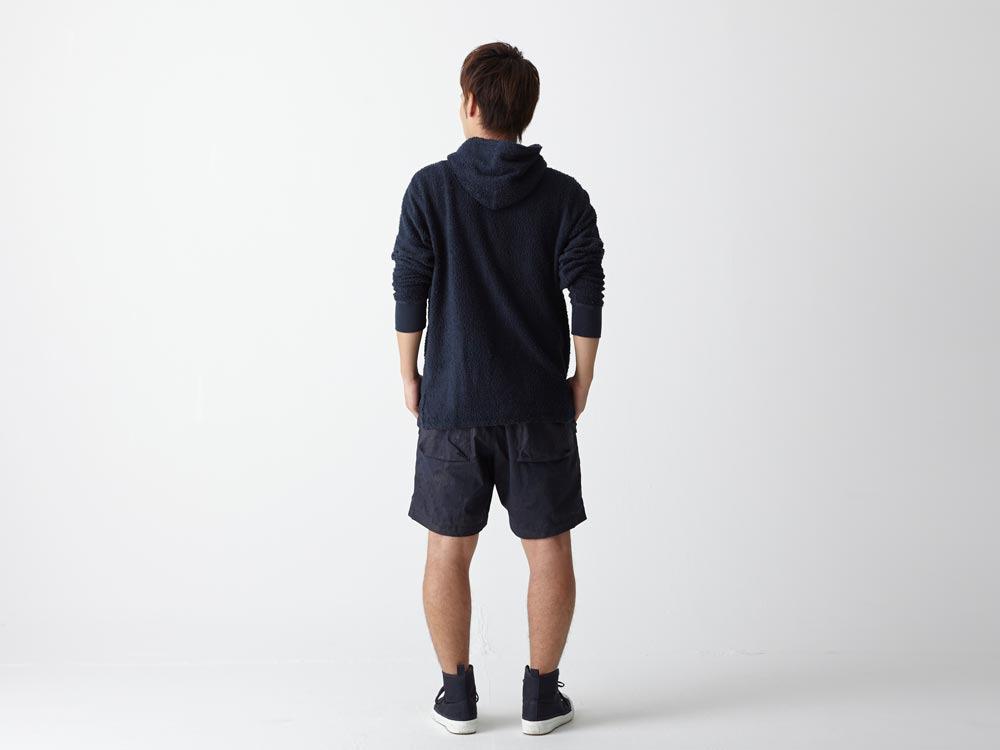Indigo C/N  Anorak Shorts (Print)3