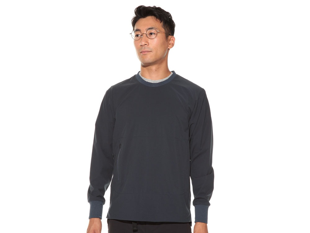 WR&Stretch Pullover L Navy2