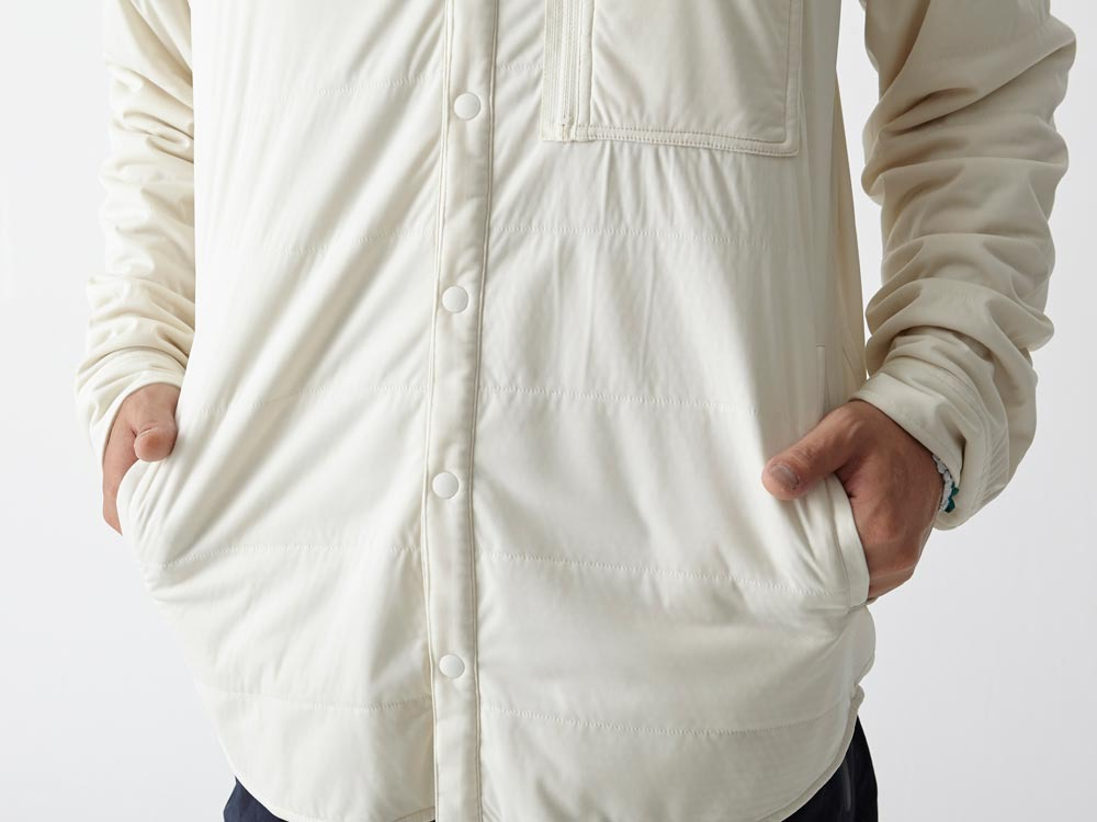 FlexibleInsulated Shirt S White6