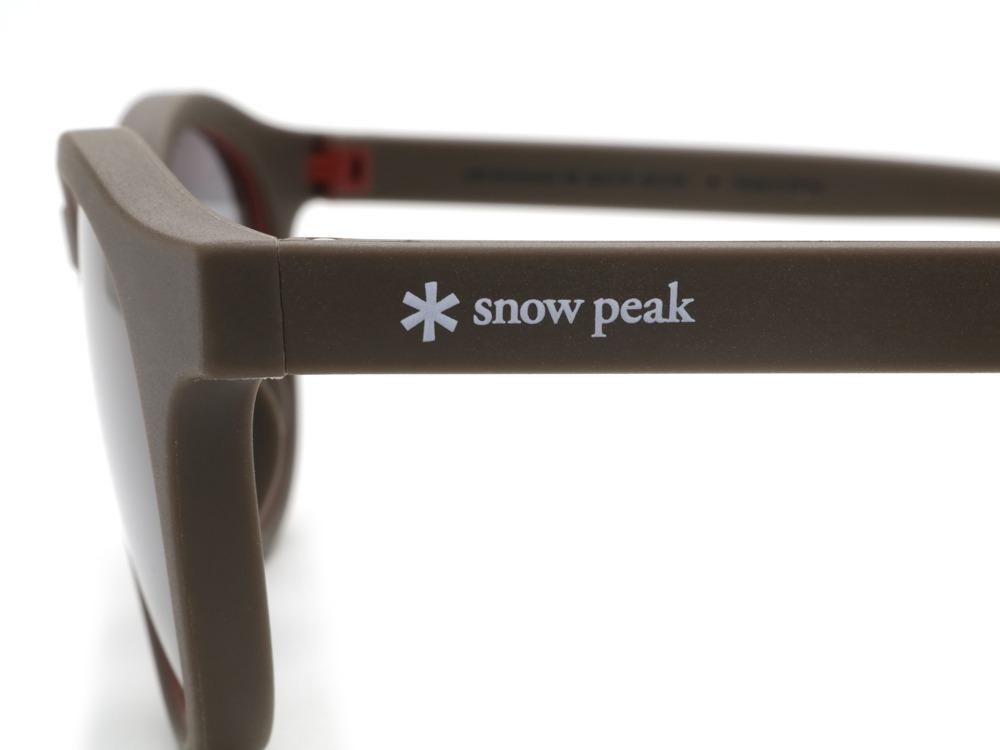 JINS × Snow Peak Rubber SUNGLASSES Kids (Boston)