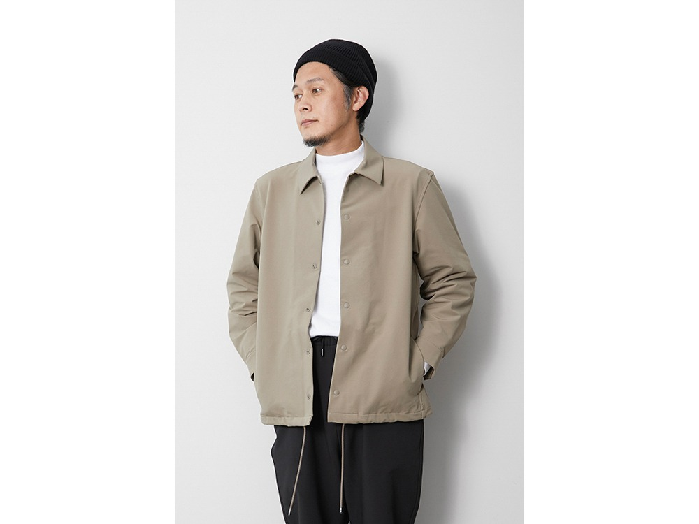 Nylon Power Wool Jacket 1 Beige