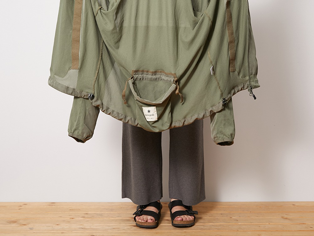 Insect Shield Parka L Olive