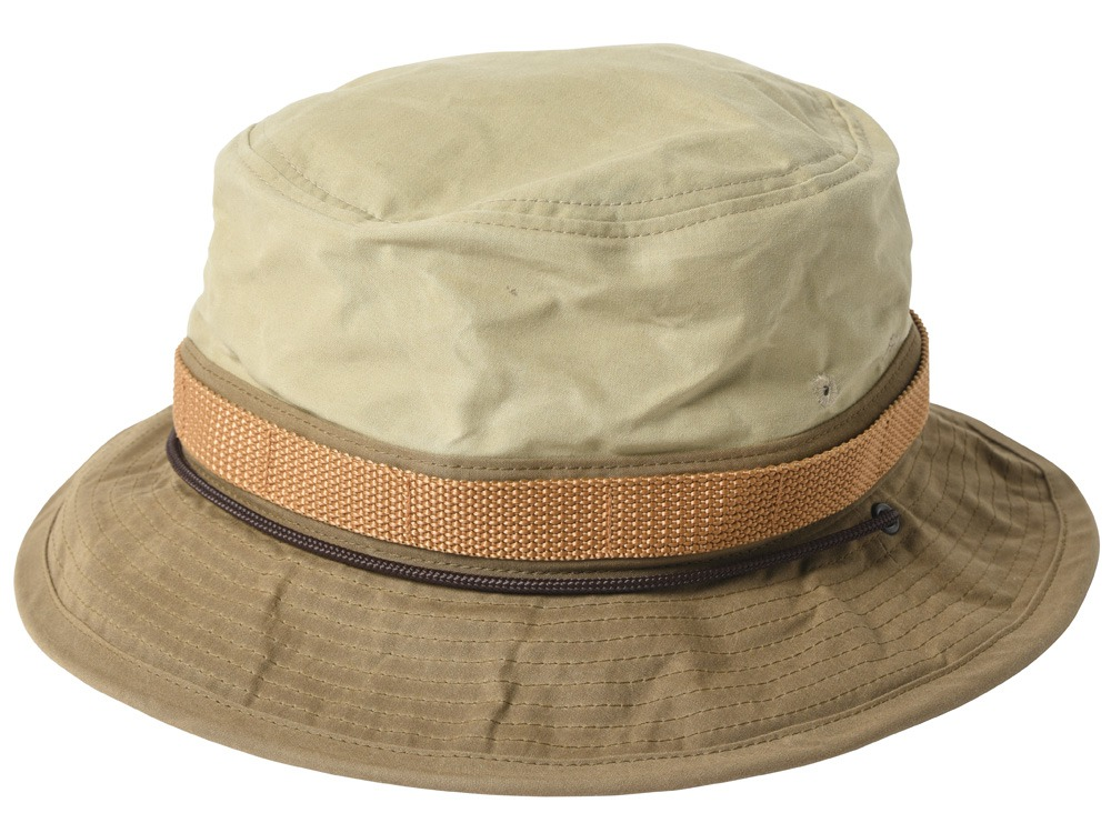 Paraffin Wax Safari Hat 2 Beige0