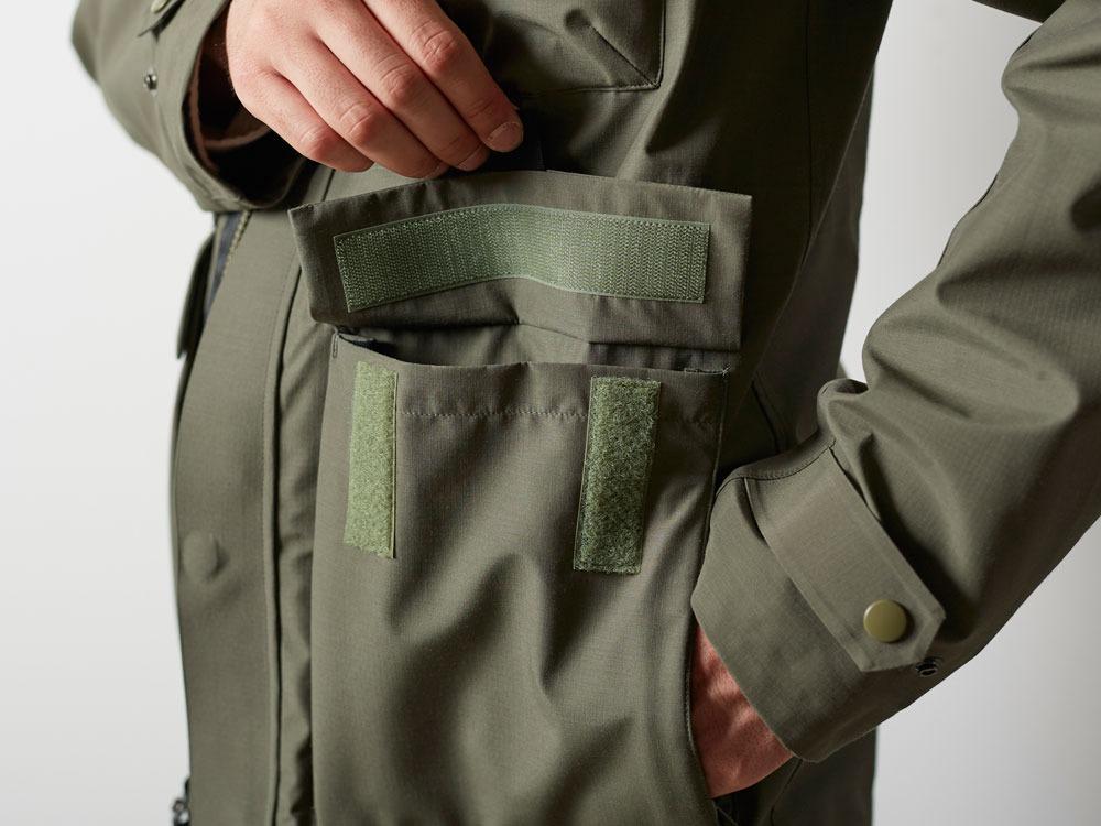 FR Rain Jacket M Olive6
