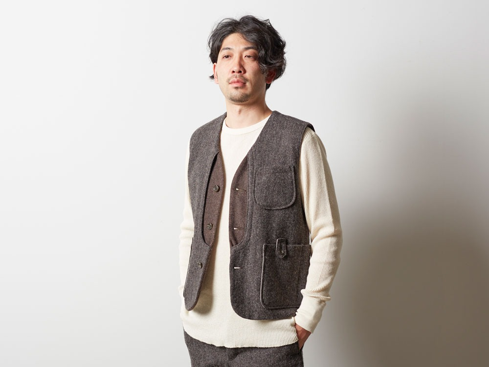 Camping Wool Vest M Grey5
