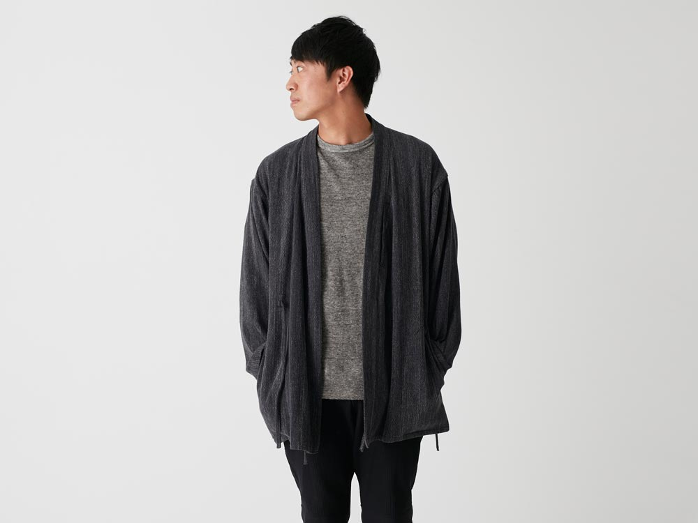Spec Dyed OX Noragi Jacket 1 Ecru9