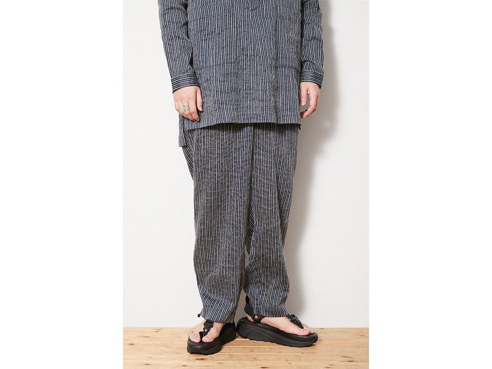 C/R Light Stripe Pants M Blue