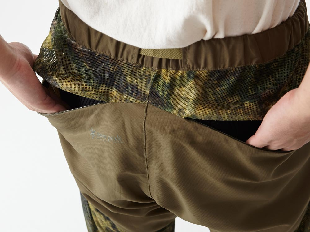Insect Shield CAMO Pants S Green7