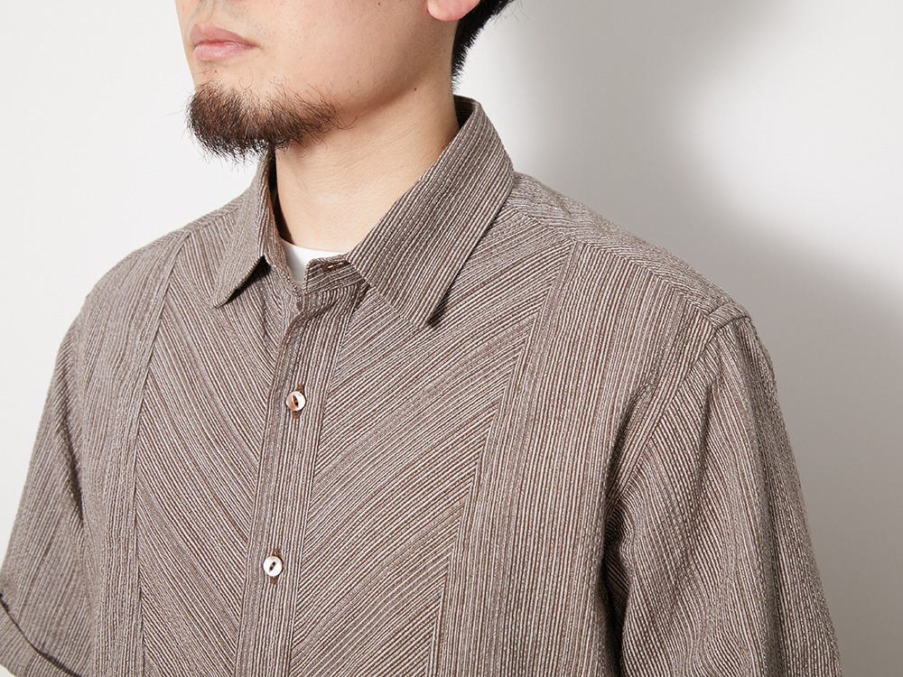 SHIJIRA Shirt 1 Brown