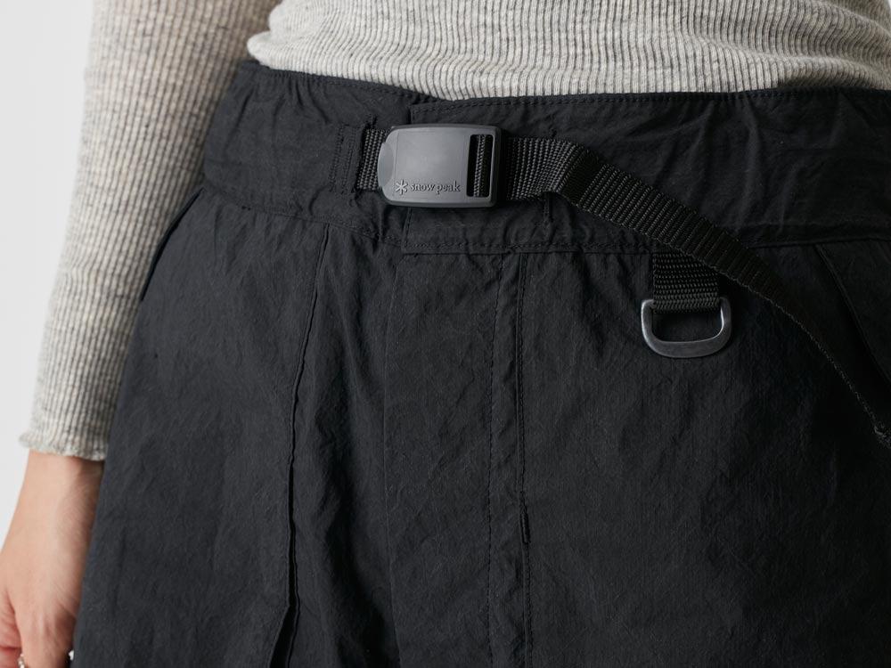 Indigo C/N  Anorak Shorts 2 Black5