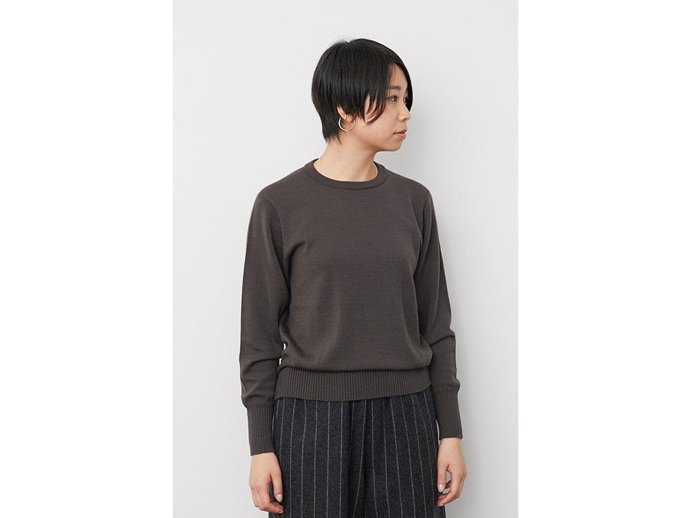 OG Wool Knit Pullover 1 Brown