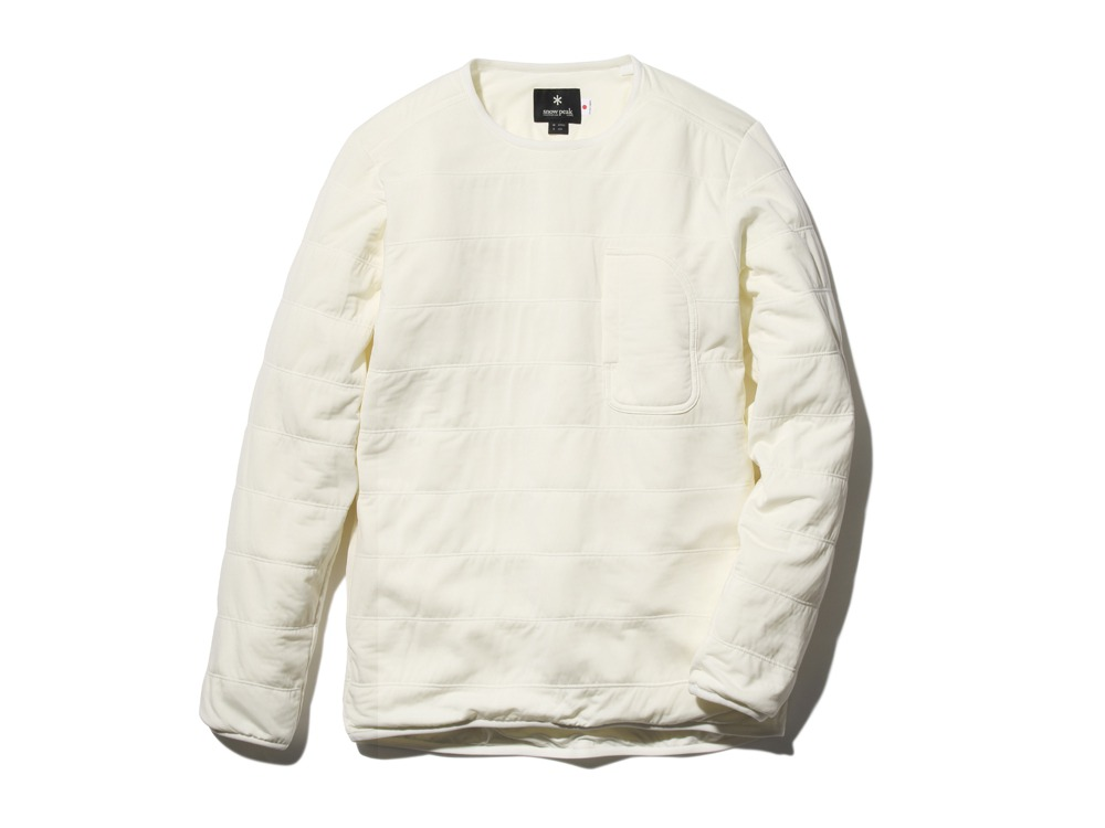 FlexibleInsulatedPullover  M White0