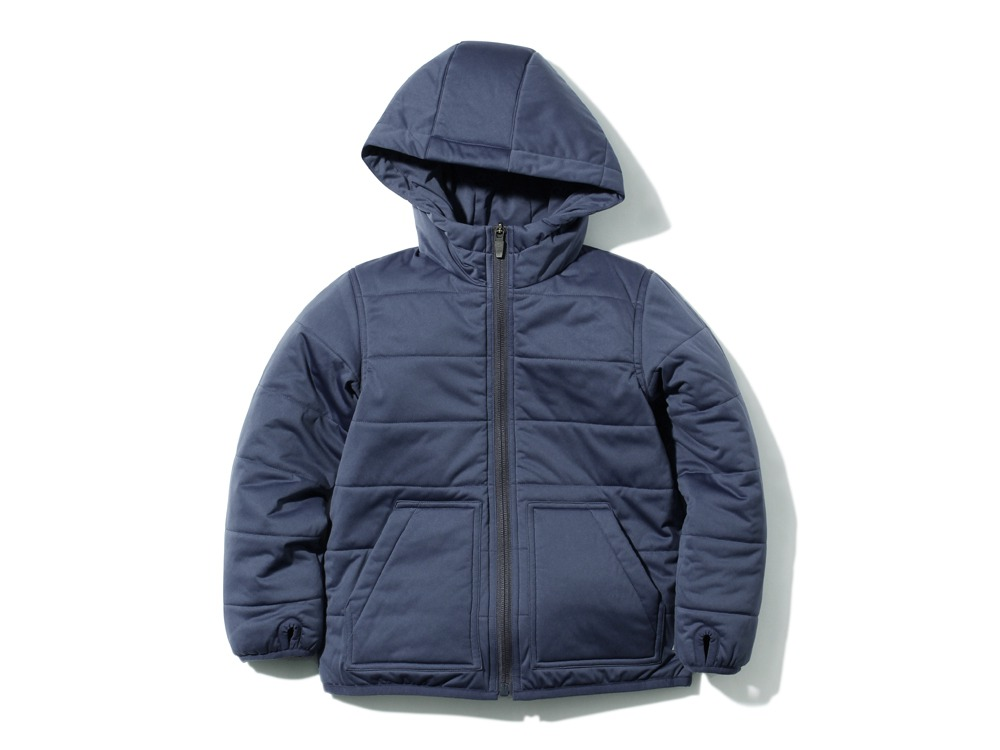 Kids Flexible Insulated Hoodie1NAVY