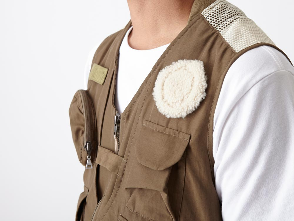 Utility Fishing Vest #2 1 Brown4