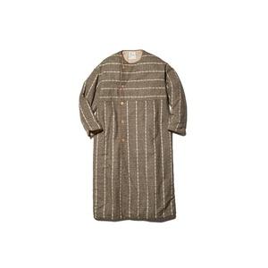 Wild Silk Striped Insulated Coat