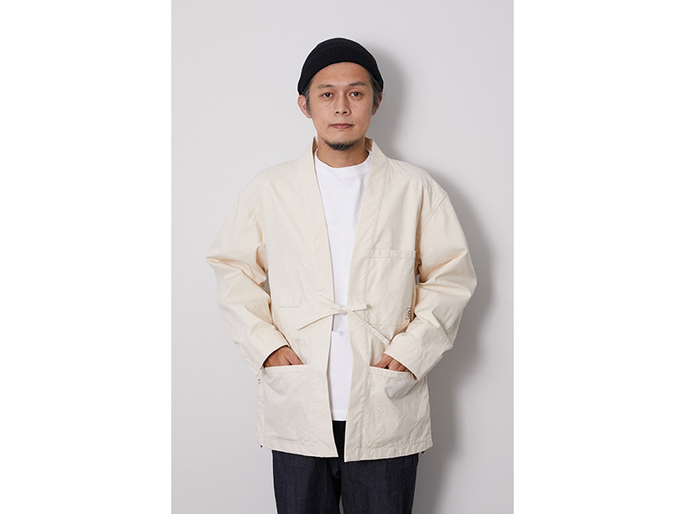 OG Canvas NORAGI Jacket M Ecru