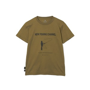 SP×TONEDTROUT Fishing Tshirt XL Beige
