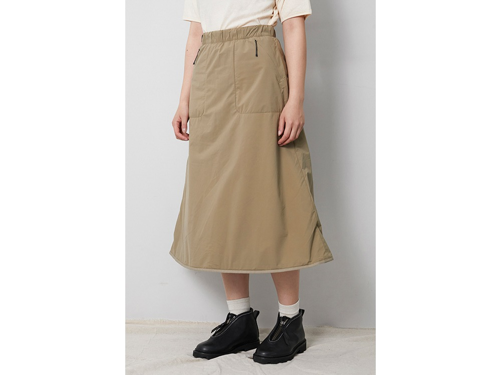 2L Octa Long Skirt 3 Beige