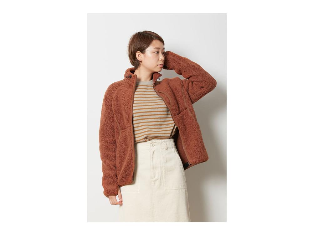 Classic Fleece Jacket L Orange