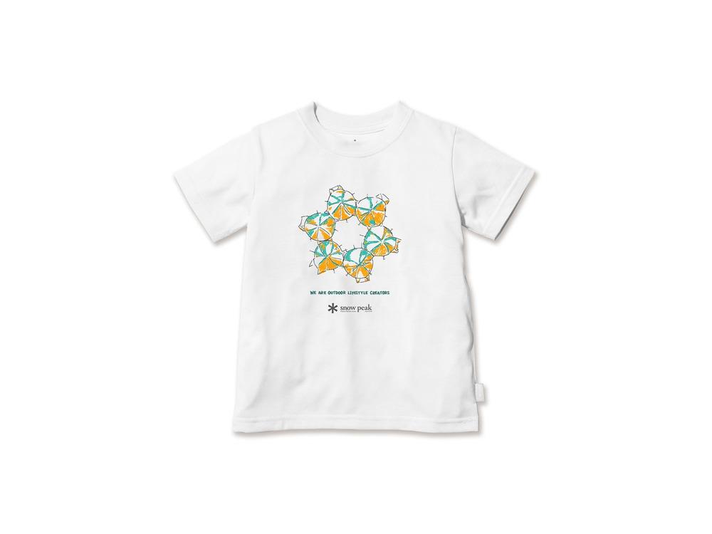 キッズ SH Join Tシャツ 3 White